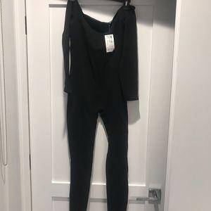 American Apparel Black Jumpsuit